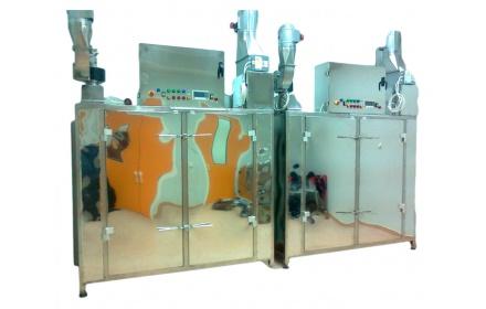 Powder tray dryer