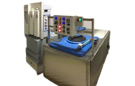 Sistem preparare și stocare apă  pură și soluție salină